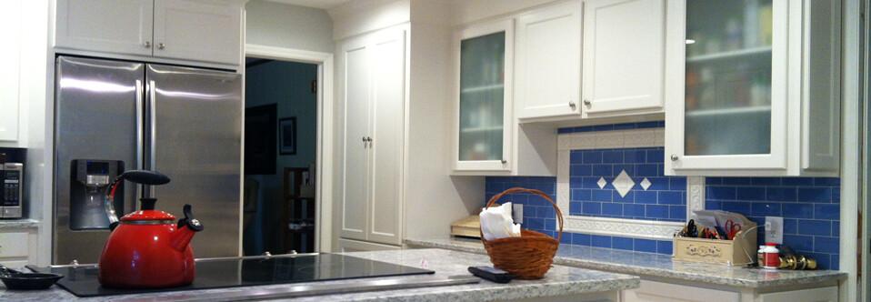 White/Blue Kitchen